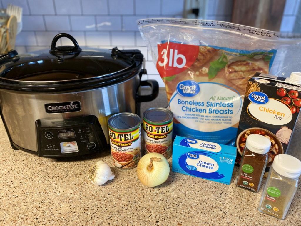 ingredients for keto white chicken chili