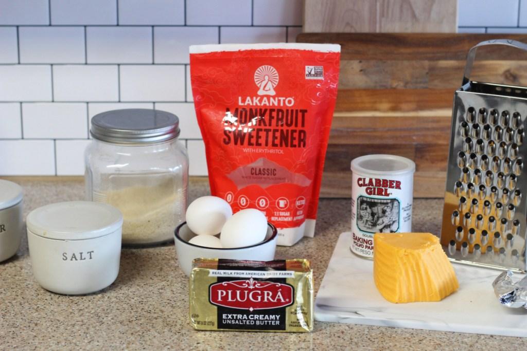 ingredients for cornbread