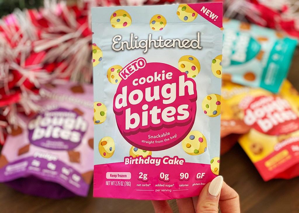 birthday cake cookie bites