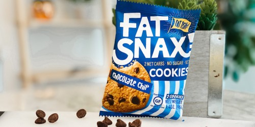 We Love Fat Snax Keto Cookies (+ Save w/ Our Exclusive Promo Code!)