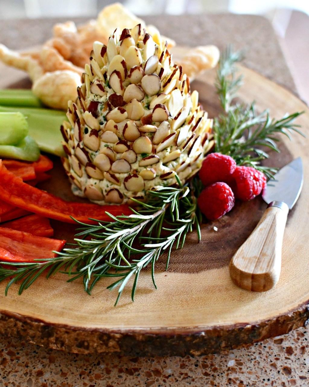 keto pine cone cheeseball