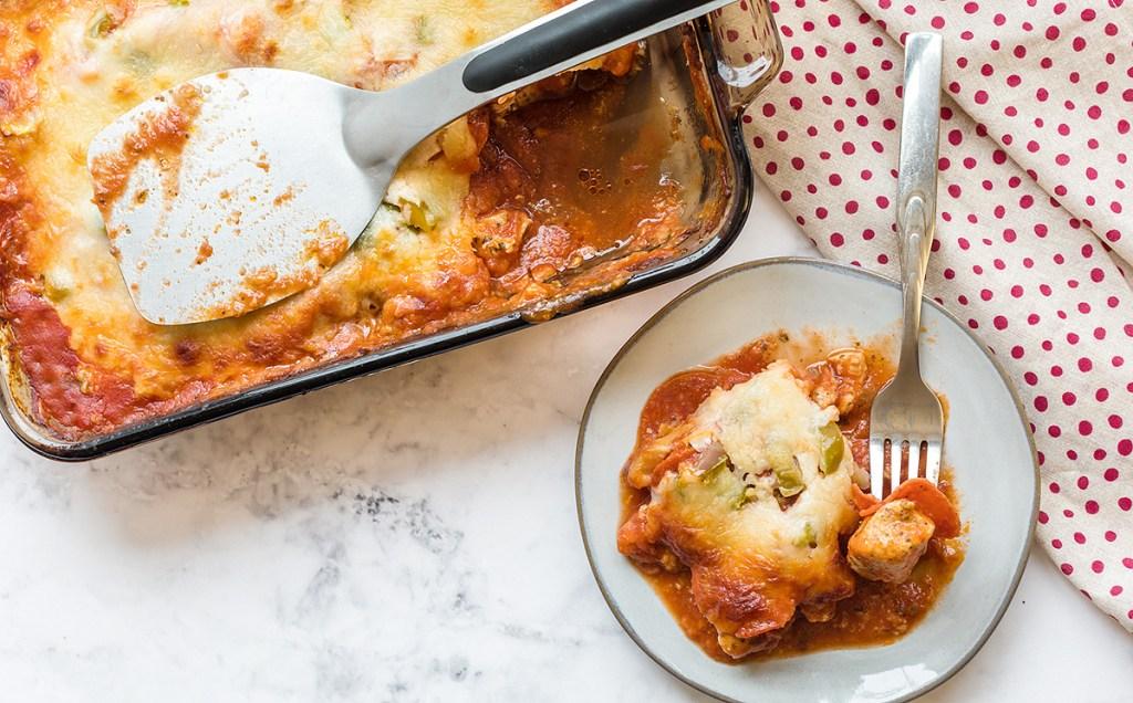 keto italian casserole