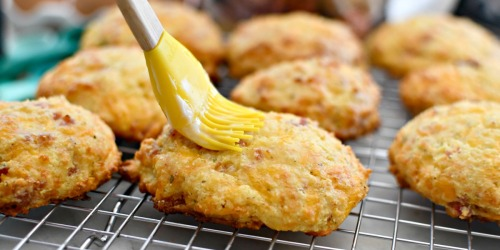 Keto Ham & Cheese Biscuits are the Definition of Low Carb Comfort Food