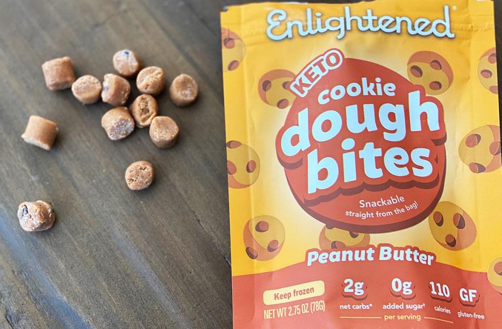 enlightened peanut butter cookie bites