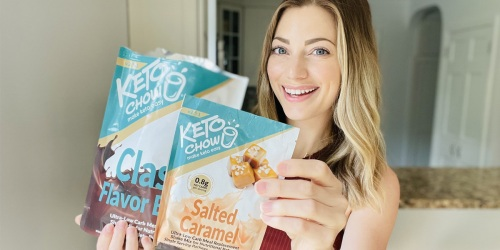 Save 20% on Keto Chow Now! Creamy & Filling Keto Meal Replacement Shakes.