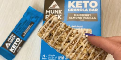 I've Fallen Completely in Love With Munk Pack Keto Granola Bars (+Save 20% W/ Promo Code!)