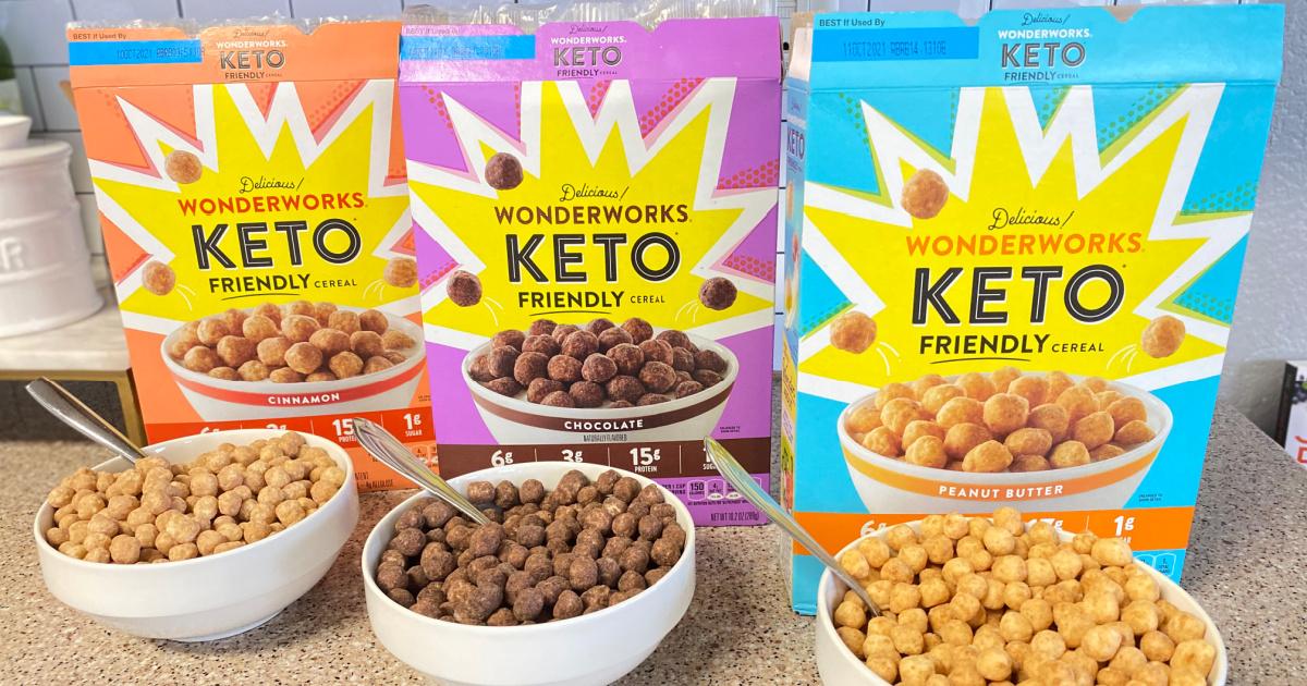 Wonderworks Keto-Friendly Cereal