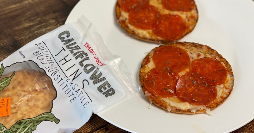 cauliflower thins pizzas