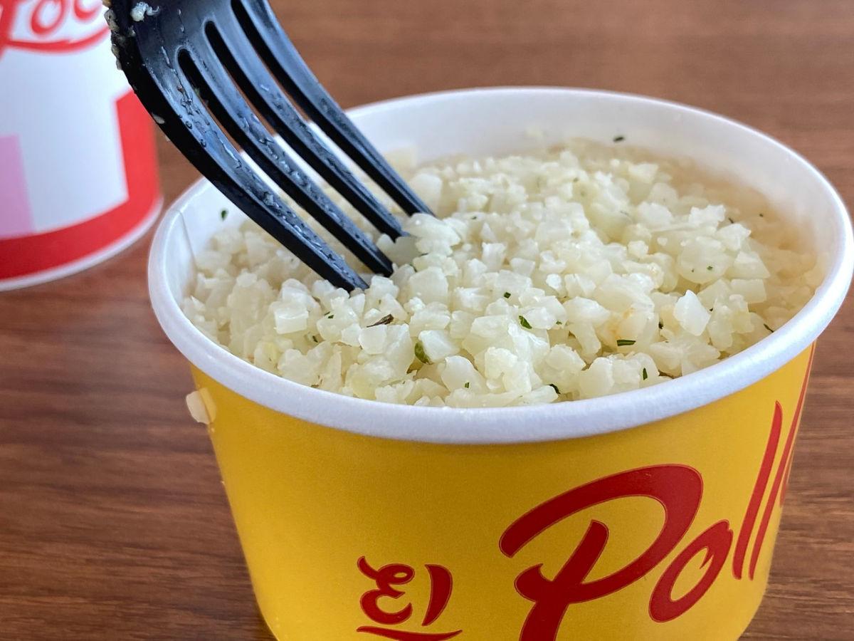 bowl of cauliflower rice