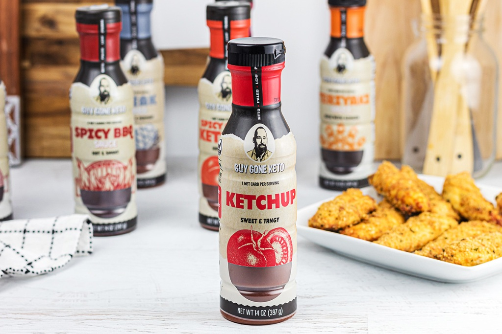 guy gone keto ketchup and chicken