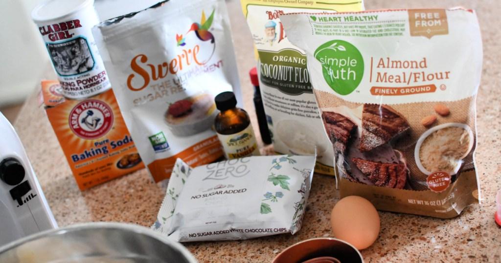 ingredients to make keto sugar cookies