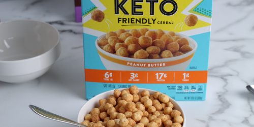 I Tried the New Wonderworks Keto Cereal From Walmart… and WOW!