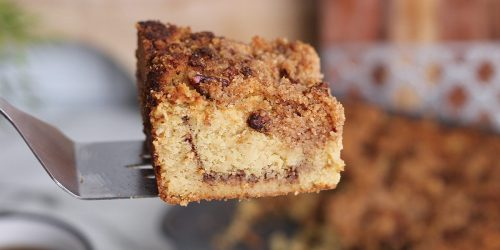 Keto Coffee Cake Will Be Your New Favorite Breakfast Treat