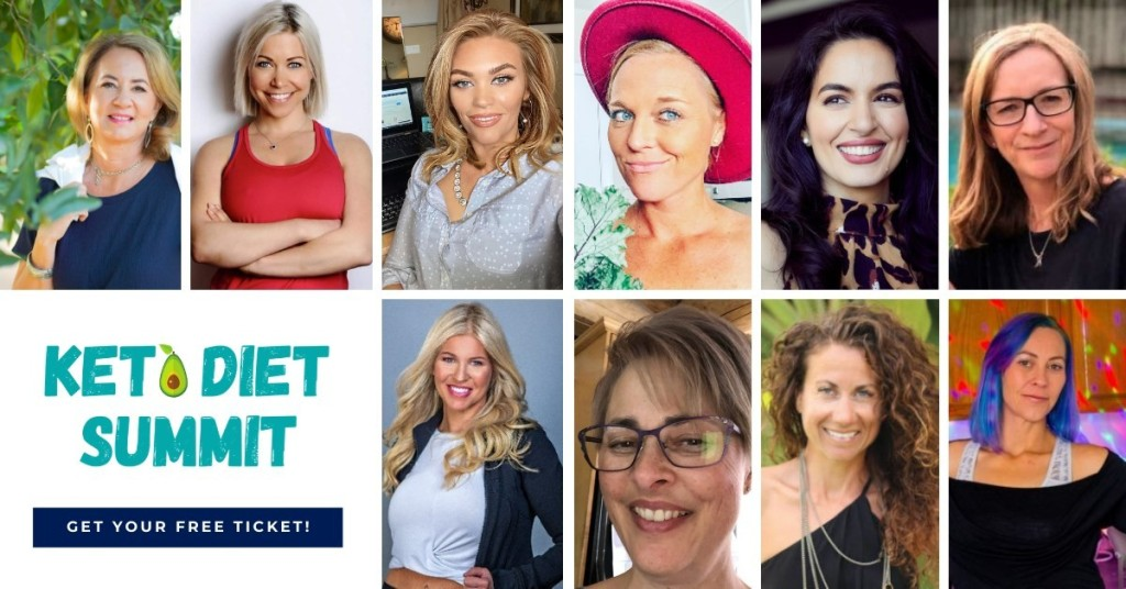 headshots of speakers from the Keto Diet Summit