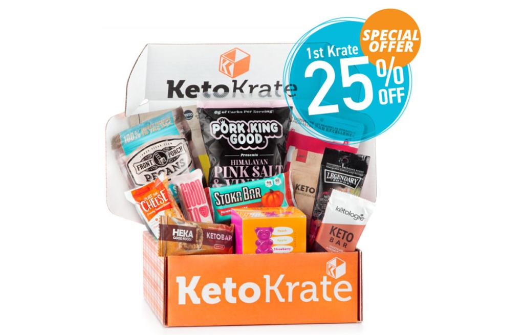 keto krate box with 25% offer