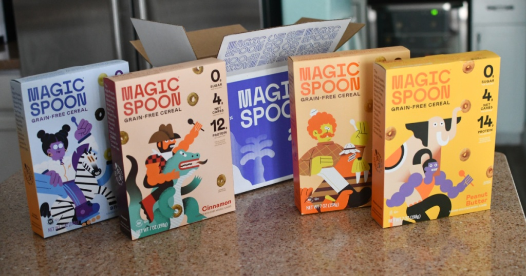 Magic Spoon Cereal with Box