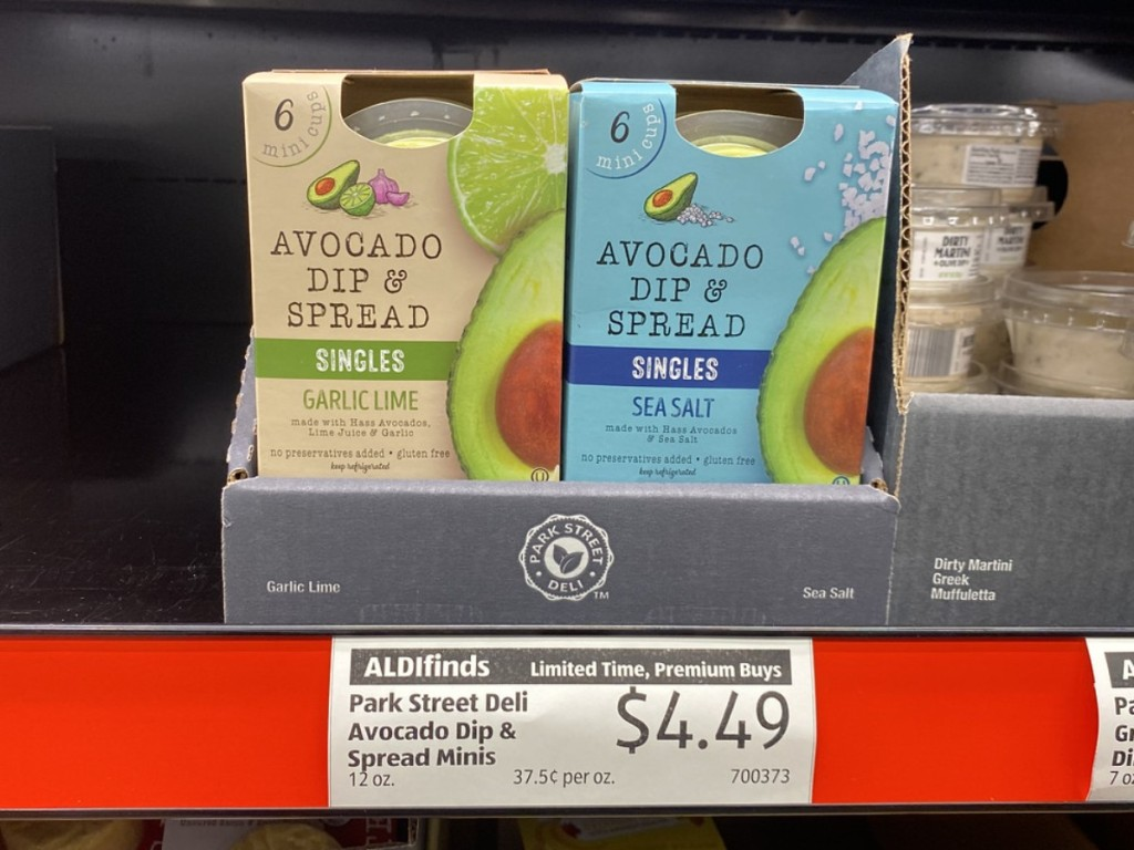 Avocado Dips at ALDI