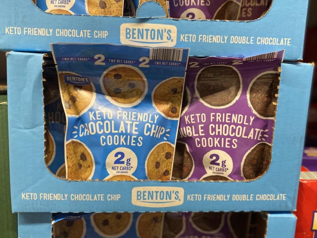 Benton's Keto-friendly cookies at ALDI