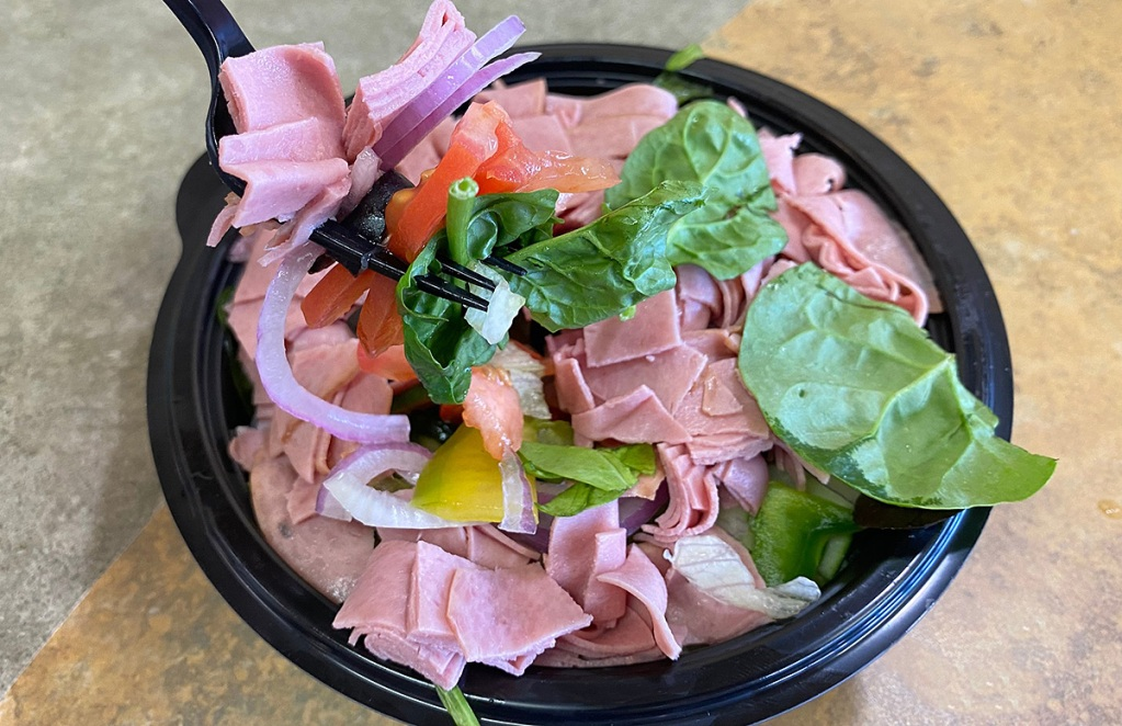 cold cut protein bowl