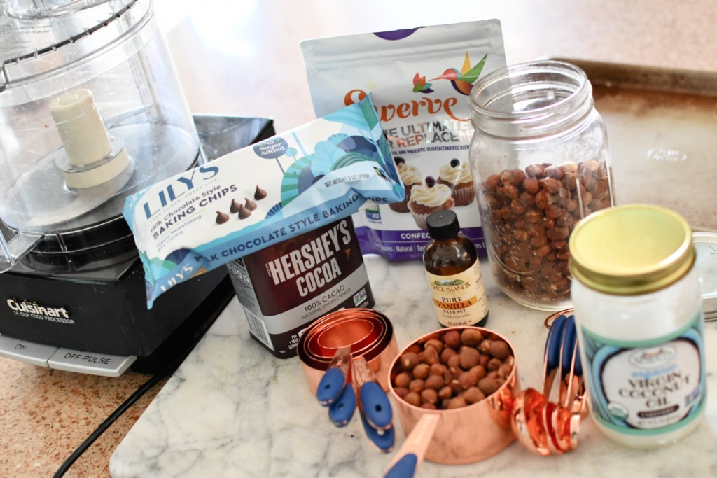 ingredients for keto nutella