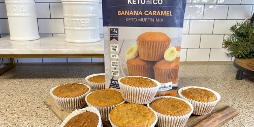 Keto and Co Makes the Best Store-Bought Keto Muffin Mix