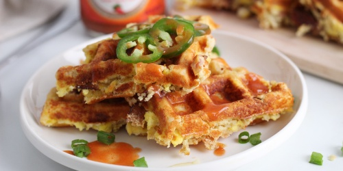 Get Ready to Sink Your Fork into These Loaded Keto Waffles