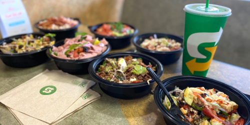 Subway Now Has 15 Options for Keto Protein Bowls!