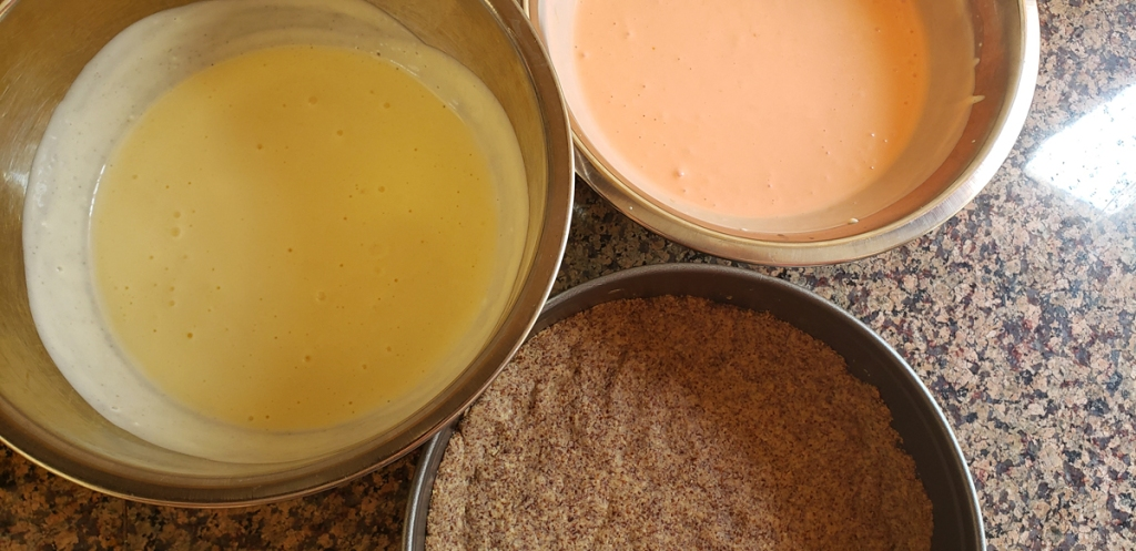 Both vanilla and orange batters