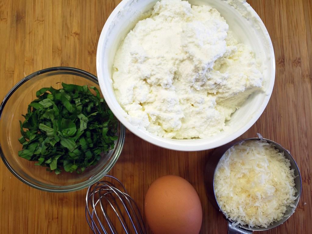 Ricotta filling ingredients