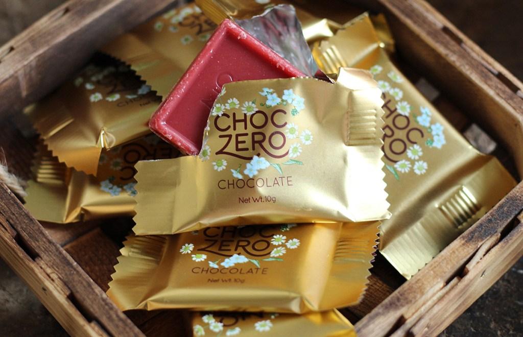 choczero strawberry chocolate candy