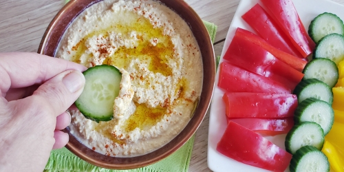 Easy Keto Hummus (Using Lupini Beans)