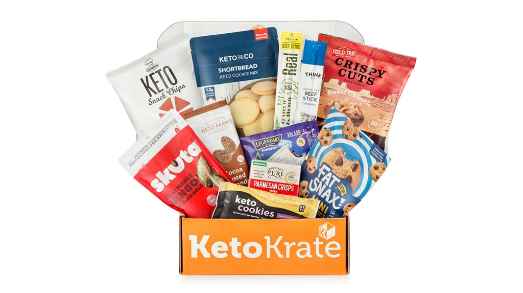 keto krate april box