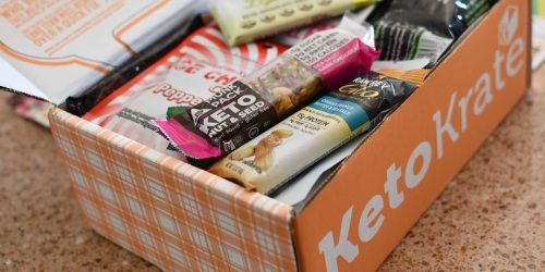 Keto Krate Boxes are Filled With the Best Low-Carb Snacks (Score 25% Off + Free Shipping)