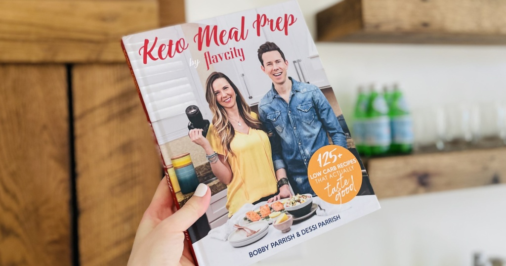 holding Keto Meal Prep by Flavcity