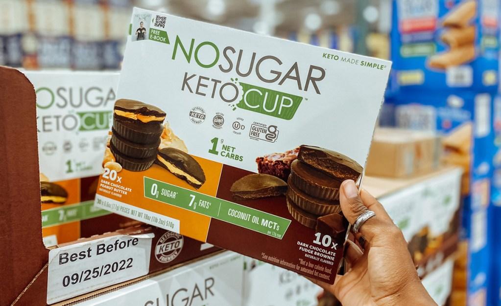 no sugar keto cup