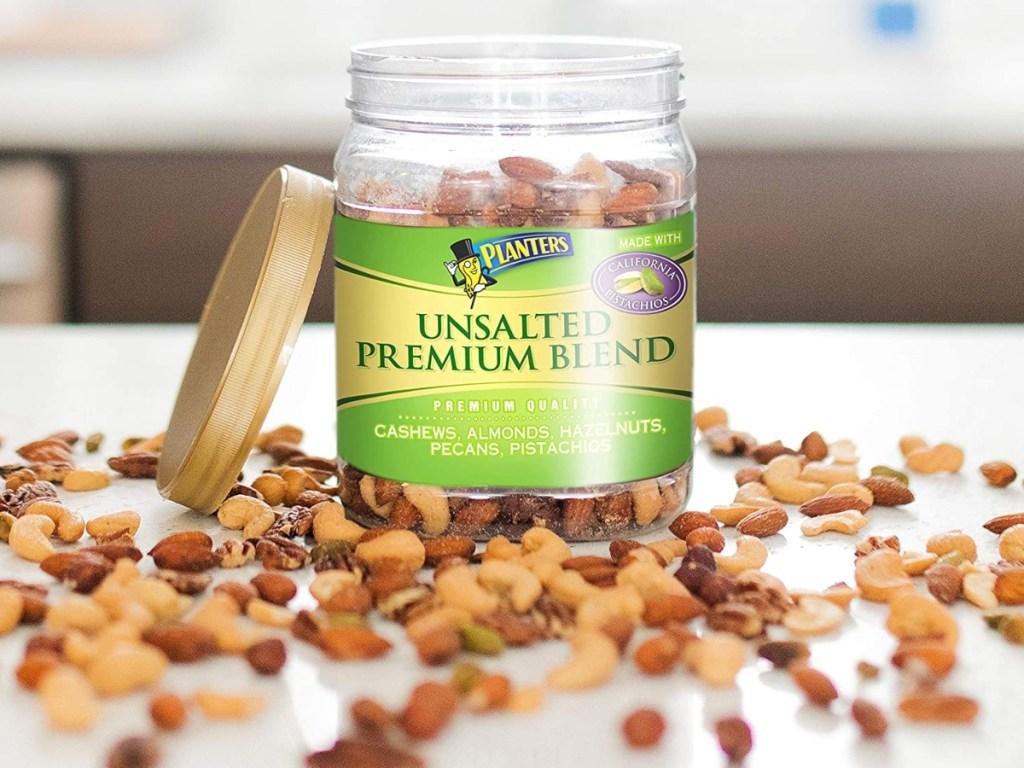 Planters Unsalted Premium Blend
