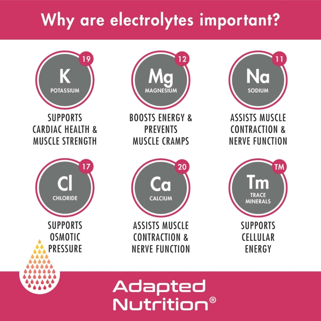 electrolyte infographic
