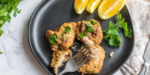 Mouth-Watering Keto Lemon Dijon Chicken Thighs