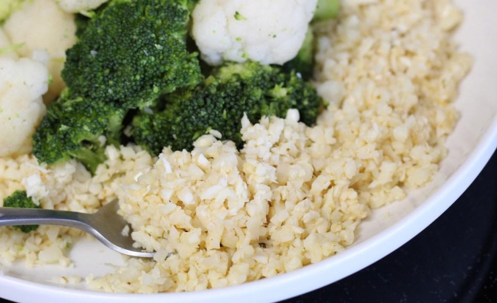 palmini low carb rice in pan