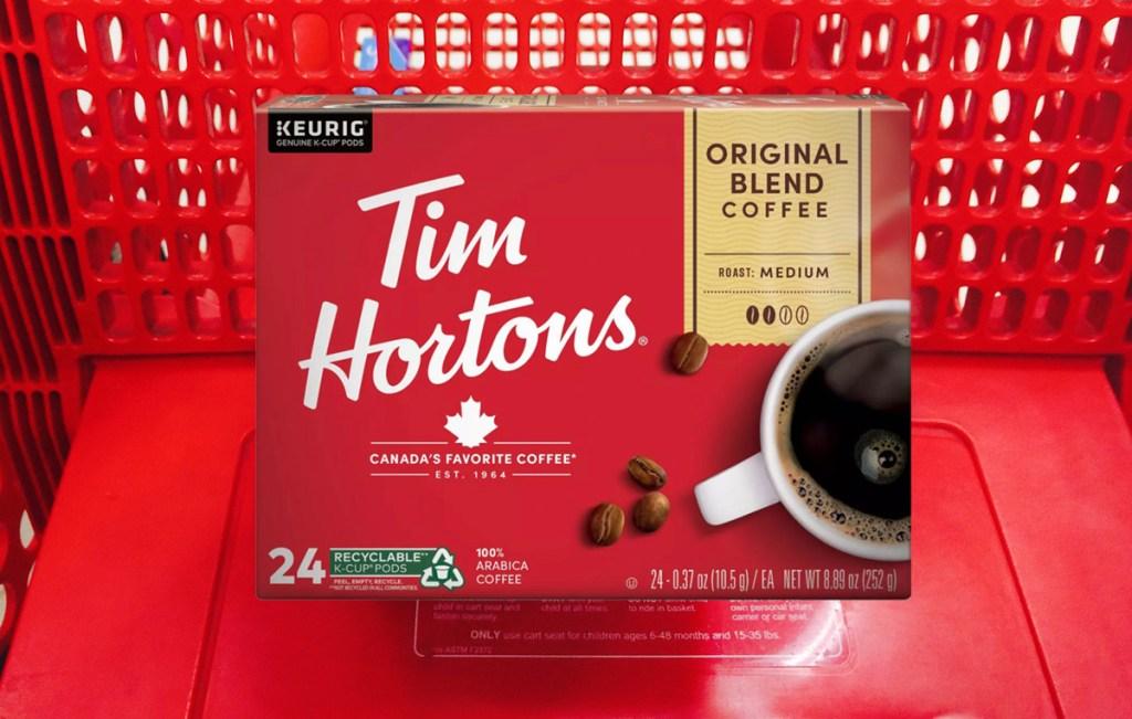 tim hortons kcups coffee