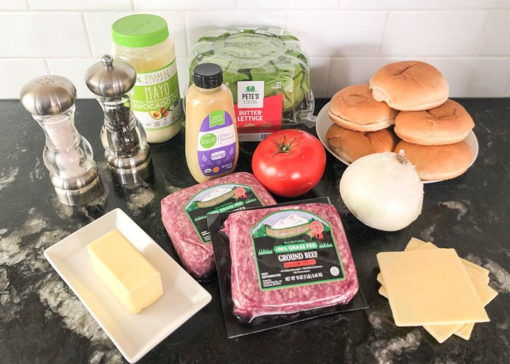 Gordon Ramsay burger ingredients