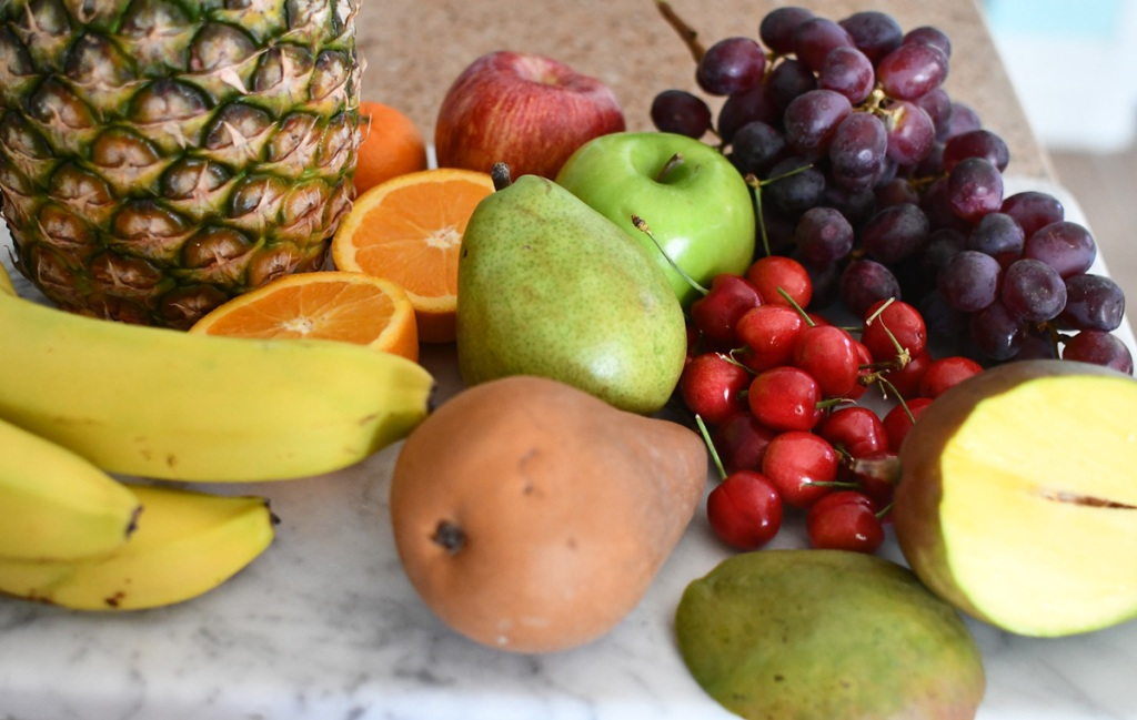 non keto fruits - pears