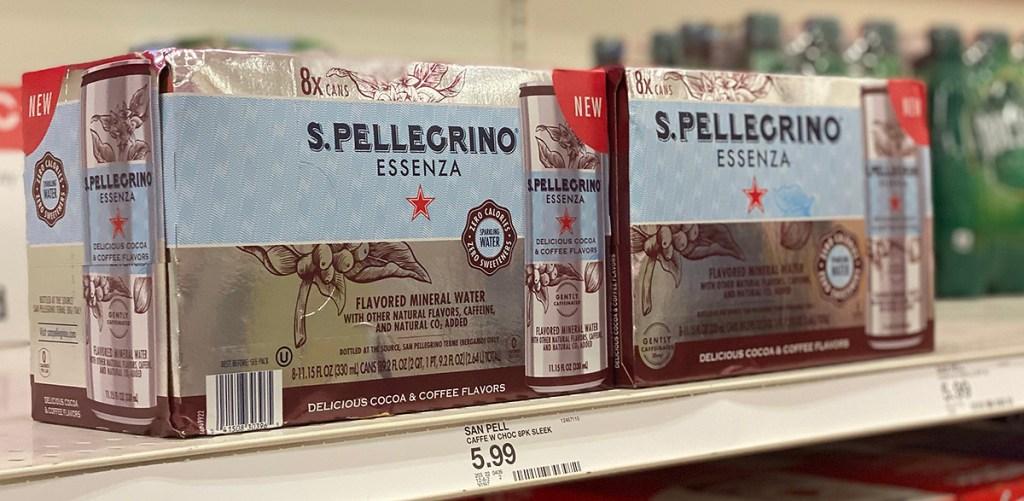 pellegrino coffee water