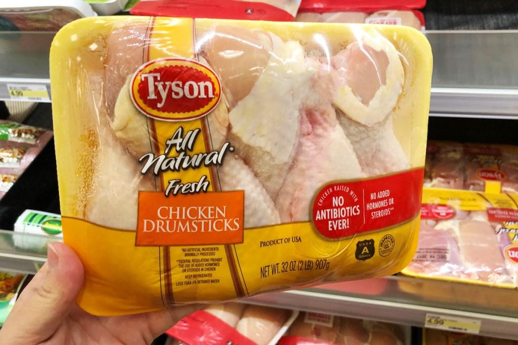 tyson chicken drumsticks