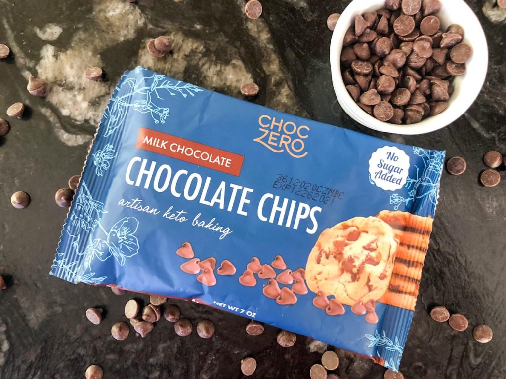 keto sugar-free milk chocolate