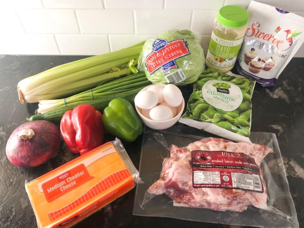 24 hour salad ingredients