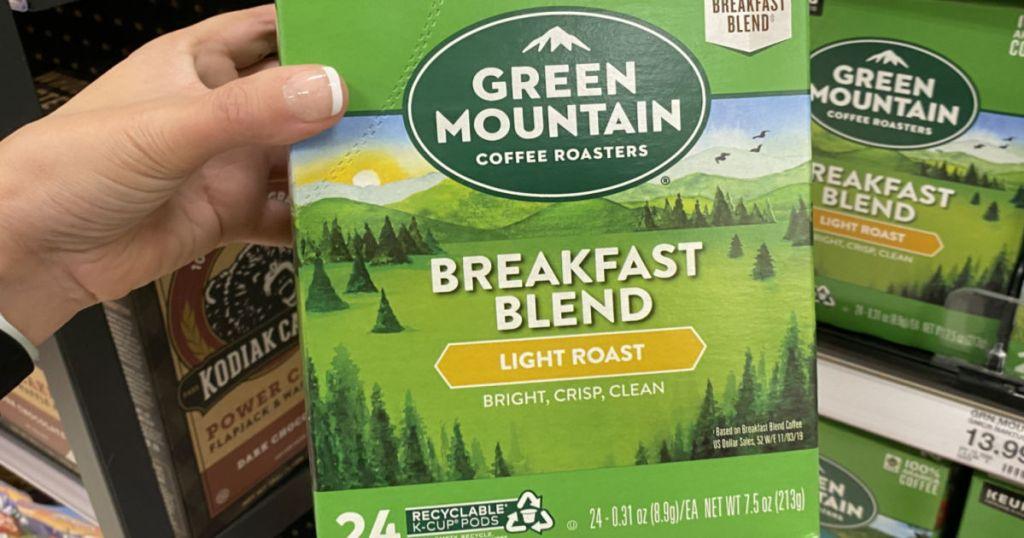 green mountain coffee pods