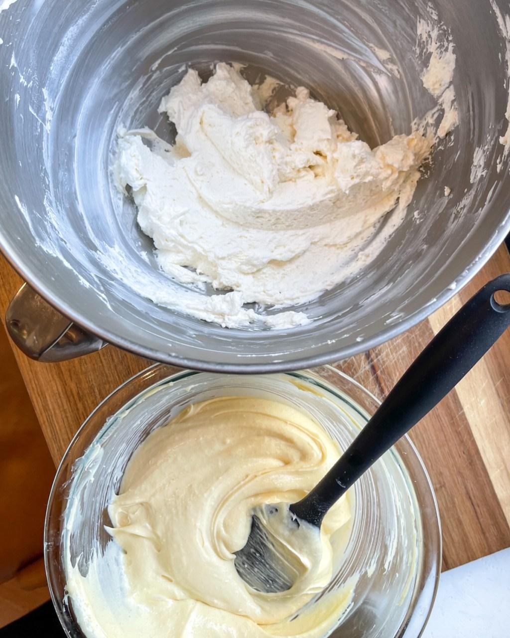 making whipped cream