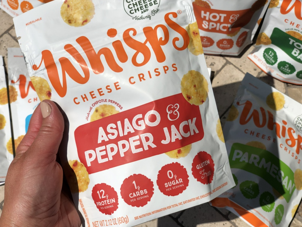 whisps cheese crisps asiago and pepper jack