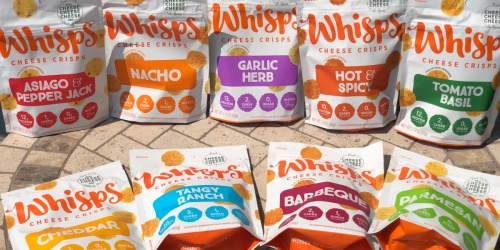 Craving that Crunch? Try Whisps Cheese Crisps
